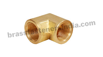 Brass Pipe Elbow